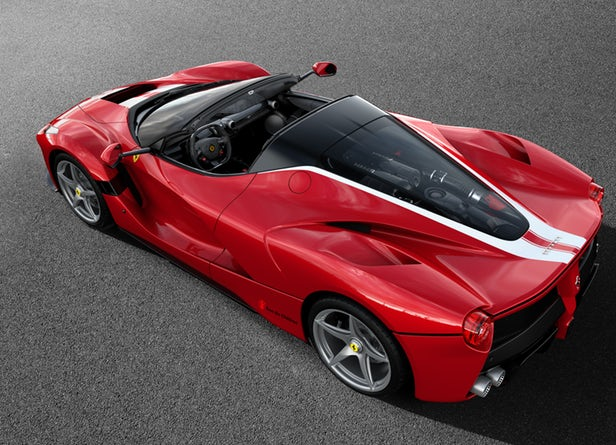 Last LaFerrari Aperta to be Auctioned for Charity