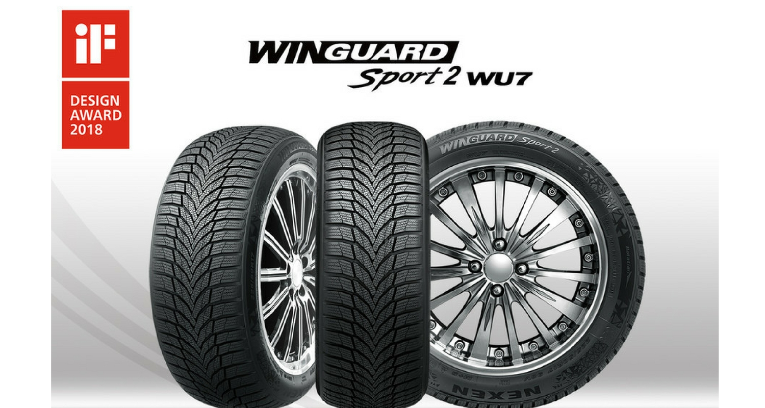 Nexen Tire Wins iF Design Award for Winguard Sport 2
