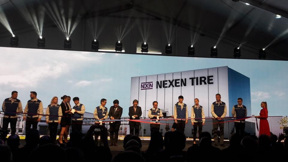 Nexen Tire Inaugurates Zatec Plant