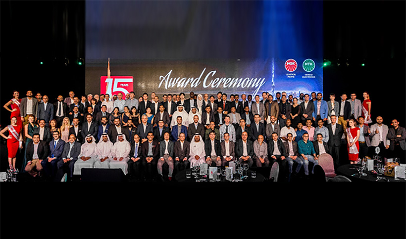 NGK Spark Plug Middle East Celebrates 15th Anniversary with Gala Event at Armani Hotel