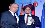 Apollo Chairman Wins Order of Merit from Hungary