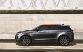 Elegant Bronze Collection Edition And Powerful P300 Hst Broaden Range Rover Evoque Family