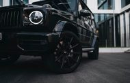 These boots are made for rolling - 23-inch forged rim for AMG G-Class
