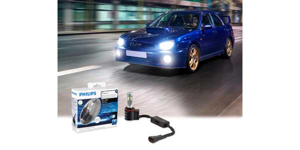Philips Offers Expanded Coverage for LED Fog Lamps
