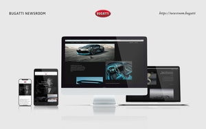 Bugatti Launches Digital Newsroom