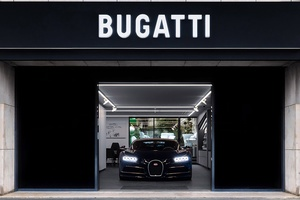 Bugatti Opens New Showroom in Paris