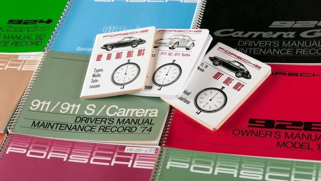 Porsche Decides to Reprint Manuals for Classic Vehicles