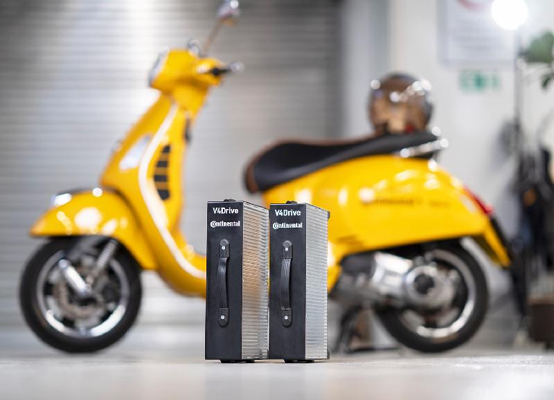 Continental and Varta are Developing a Particularly Powerful Battery for Electric Two-wheelers