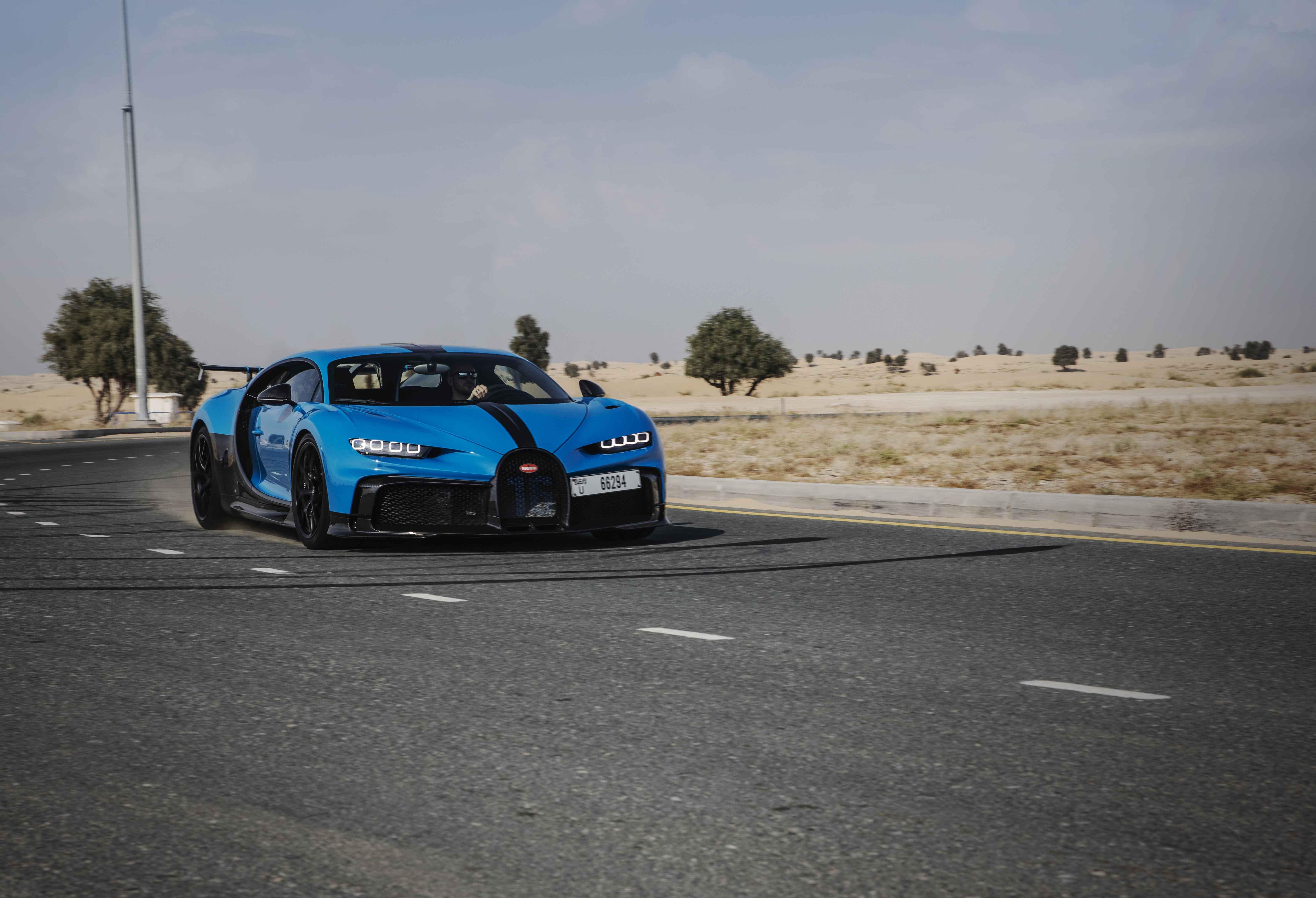 Bugatti Chiron Pur Sport – First Test Drives in Dubai