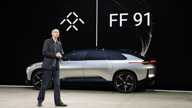 Faraday Future Debuts FF91 at CES 2017