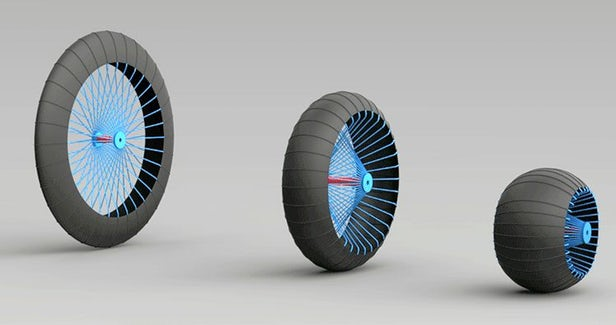 Roadless Wheel System Makes It Easy to Tackle All Terrains