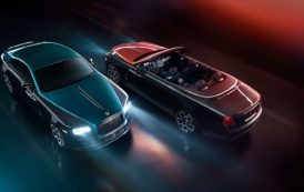 Rolls-Royce Presents Adamas Collection with Carbon-fiber Spirit of Ecstasy