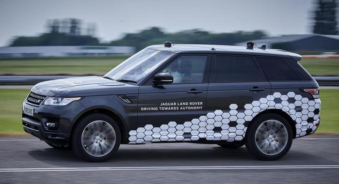Jaguar Land Rover Showcases First Fully Autonomous Range Rover