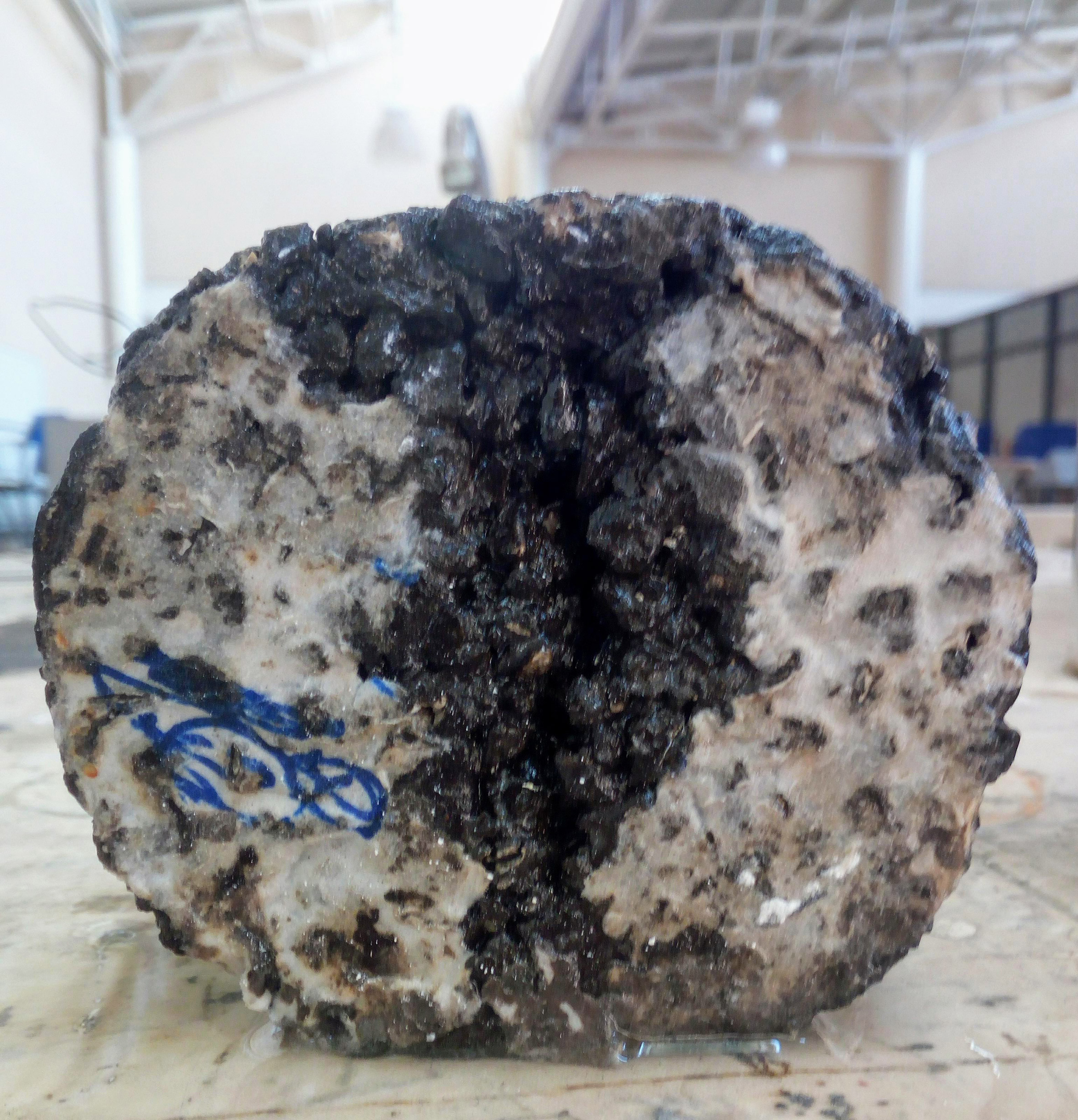 Recycled Tires Used for Self-repairing Roads and Pavements