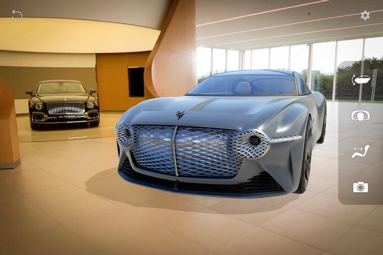 Bentley Develops App for Bentley EXP 100 GT Concept