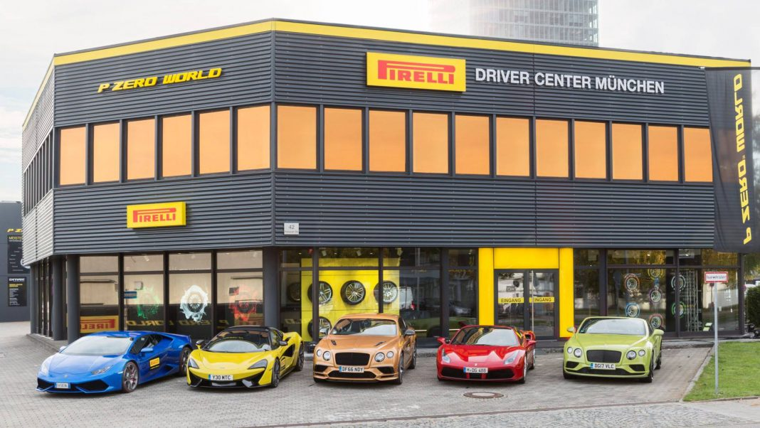 Pirelli opens first PZero world in Europe