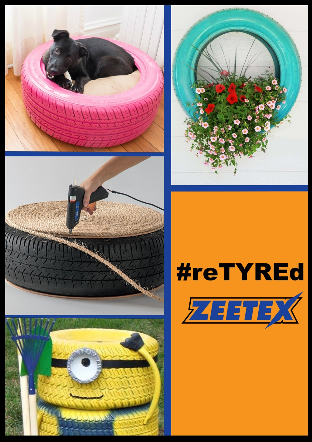 Zeetex Launches #reTYREd campaign