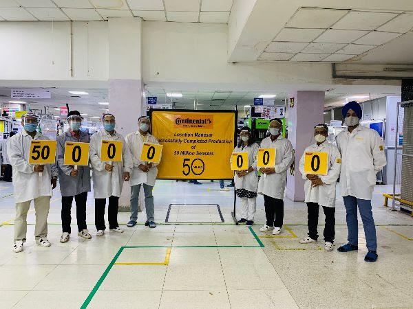 Continental India Celebrates 50Million Wheel Speed Sensors