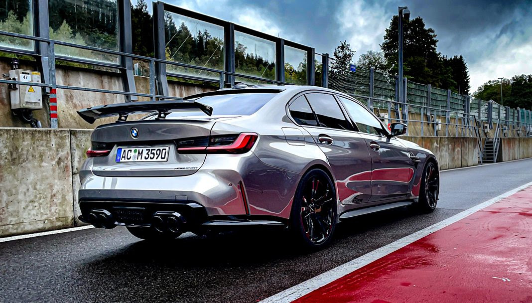 The AC Schnitzer Program for the BMW M3 G80, G81