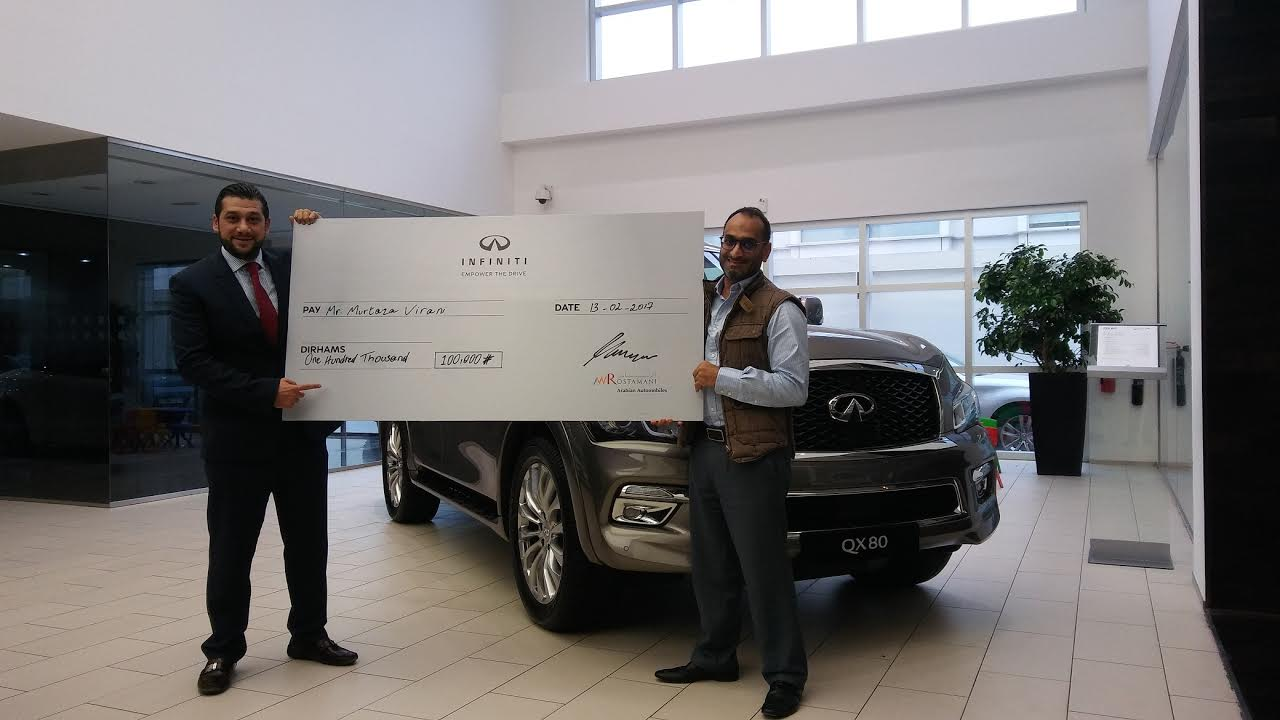 Arabian Automobiles Announces Winners of DSF promotion