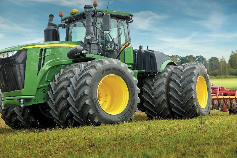 IN THE NEW SUSTAINABLE AGRICULTURE  THE CHOICE OF TIRES MAKES A DIFFERENCE