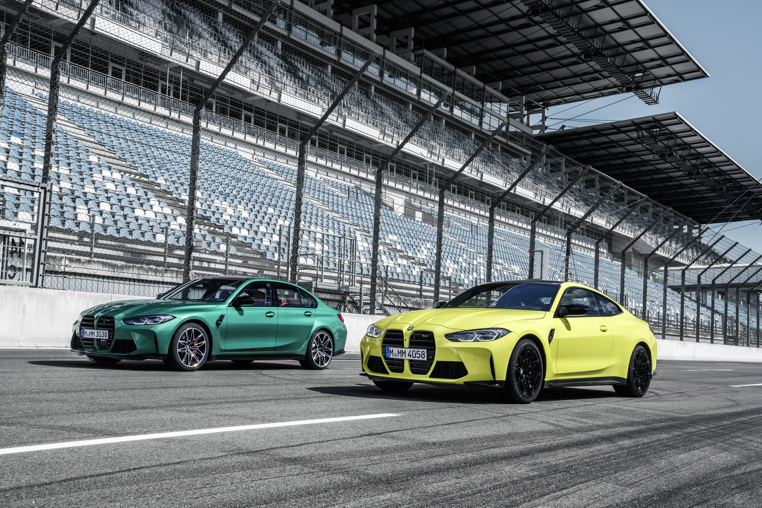 The new BMW M3 Sedan and M4 Coupé