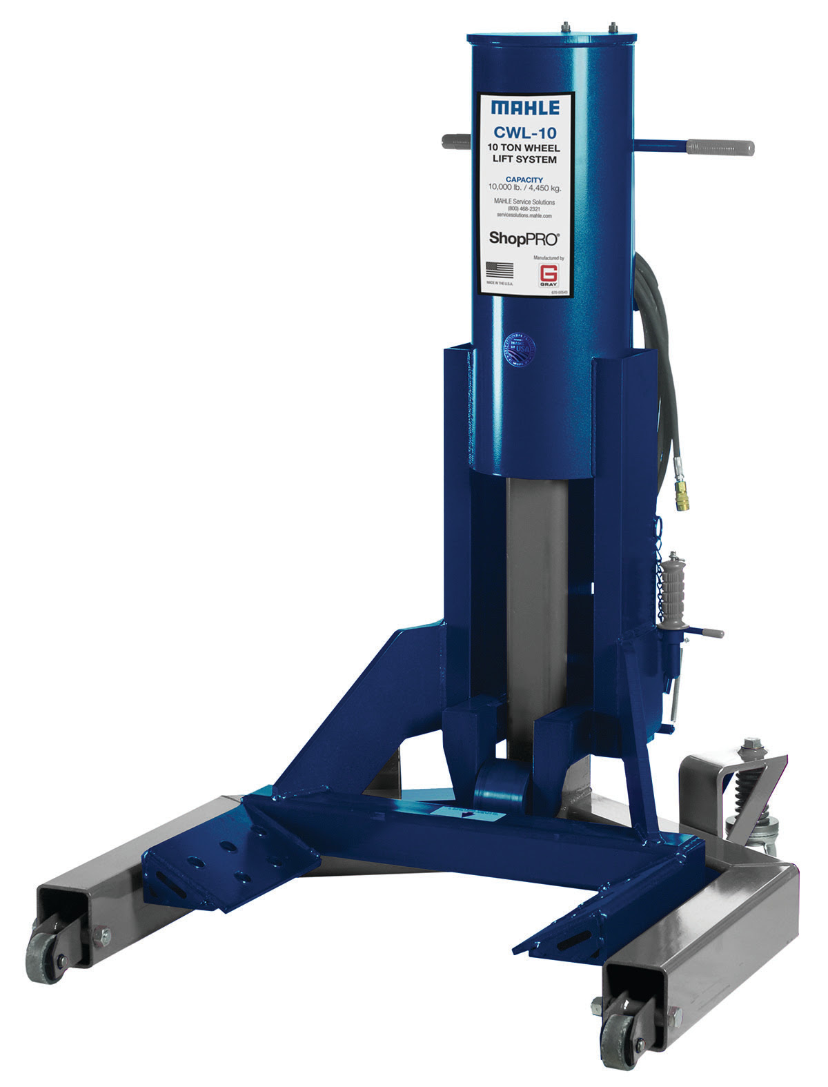 MAHLE Service Solutions Launches Commercial Wheel Lift ShopPRO CWL-10