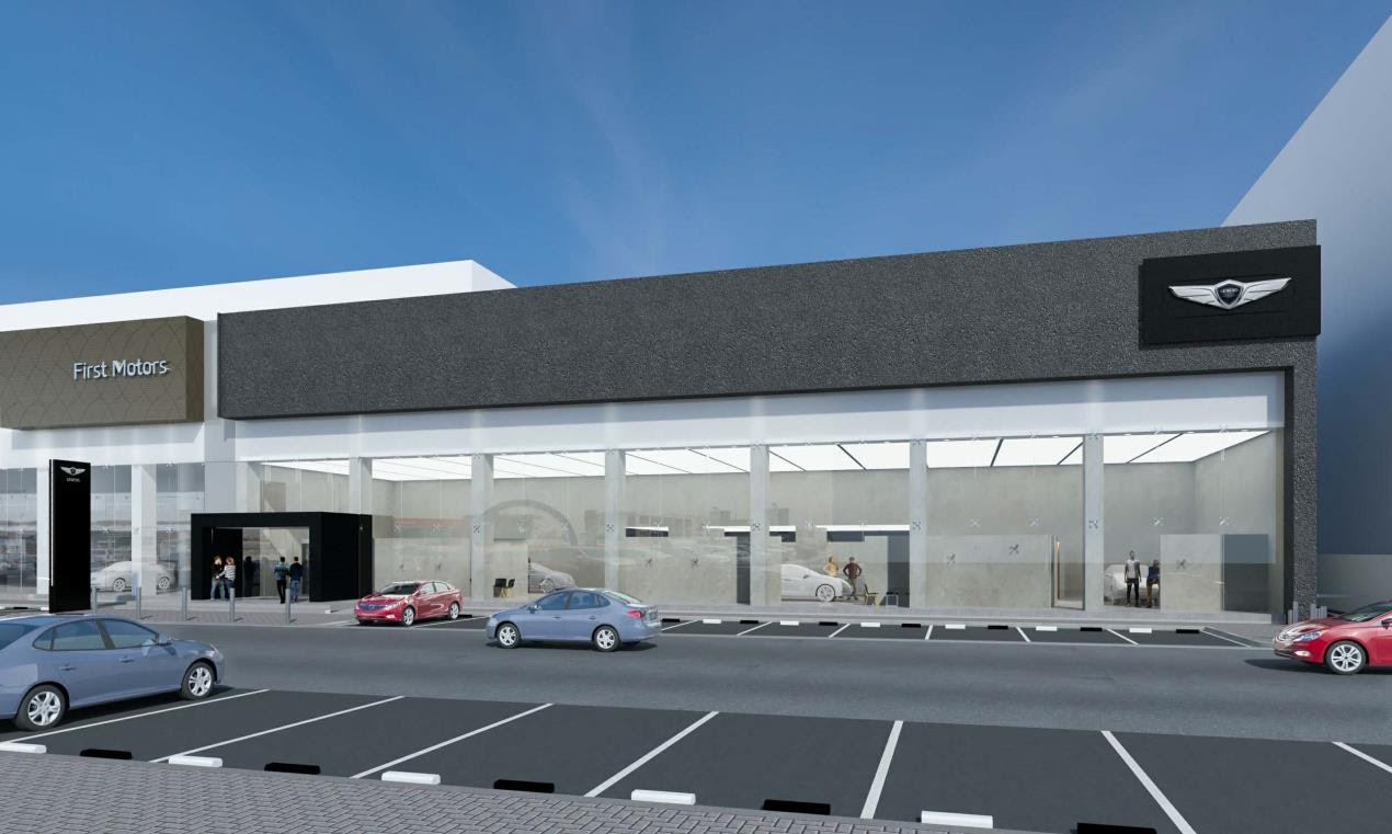 GENESIS MOTORS MARKS EXPANSION PLANS WITH OPENING OF REGION'S FIRST STANDALONE STATE-OF-THE-ART SHOWROOM