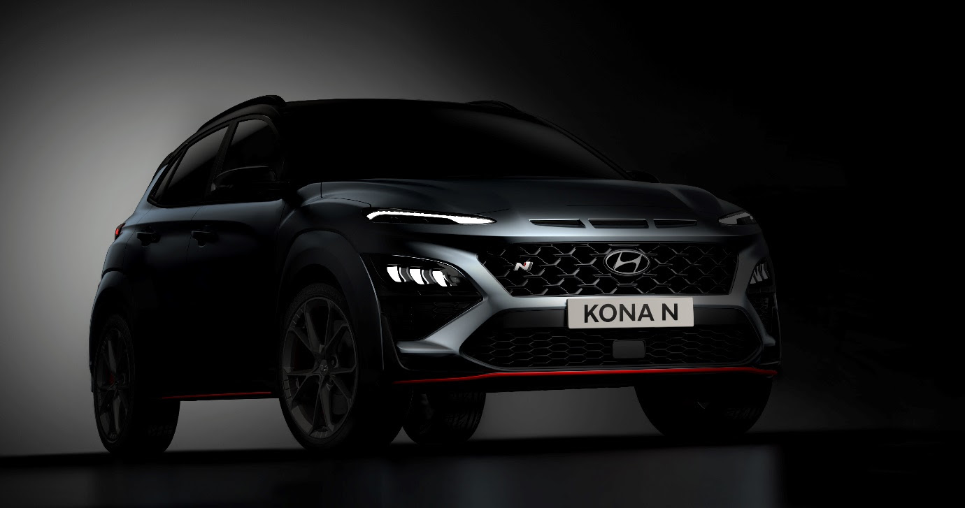 Hyundai Motor reveals first glimpse of all-new KONA N uncovered