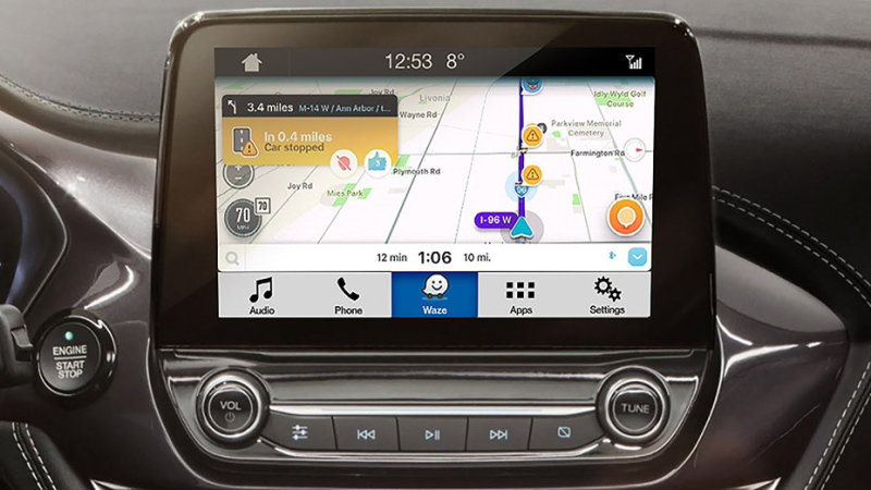 Ford Integrates Waze Navigation App in Sync 3