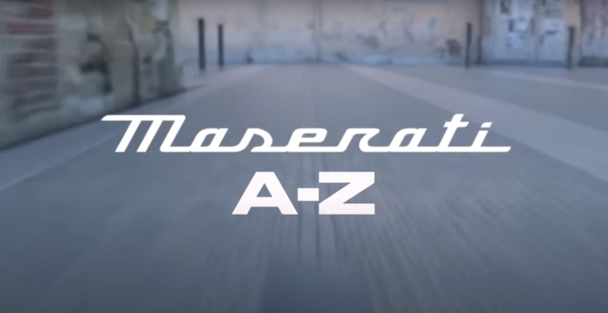 Celebrating 106 years of Maserati  with the A to Z of the past, present and future of the Brand