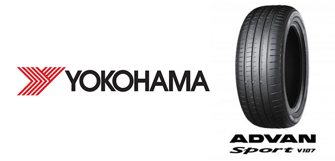 "YOKOHAMA's ""ADVAN Sport V107"" Coming Factory-Equipped on Leading German Automotive Manufacturer's Premium Cars"